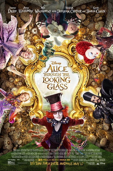 Alice Through the Looking Glass 2016 TC 720P X264 AAC-MP4BA
