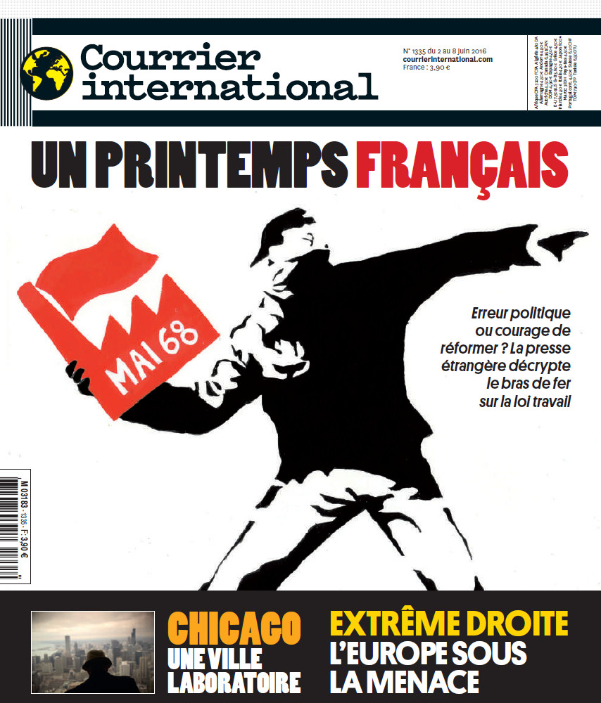 COURRIER INTERNATIONAL N°1335 du 2 au 8 Juin 2016