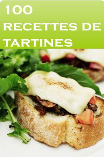 télécharger 100 recettes de tartines - Aurelien Groux