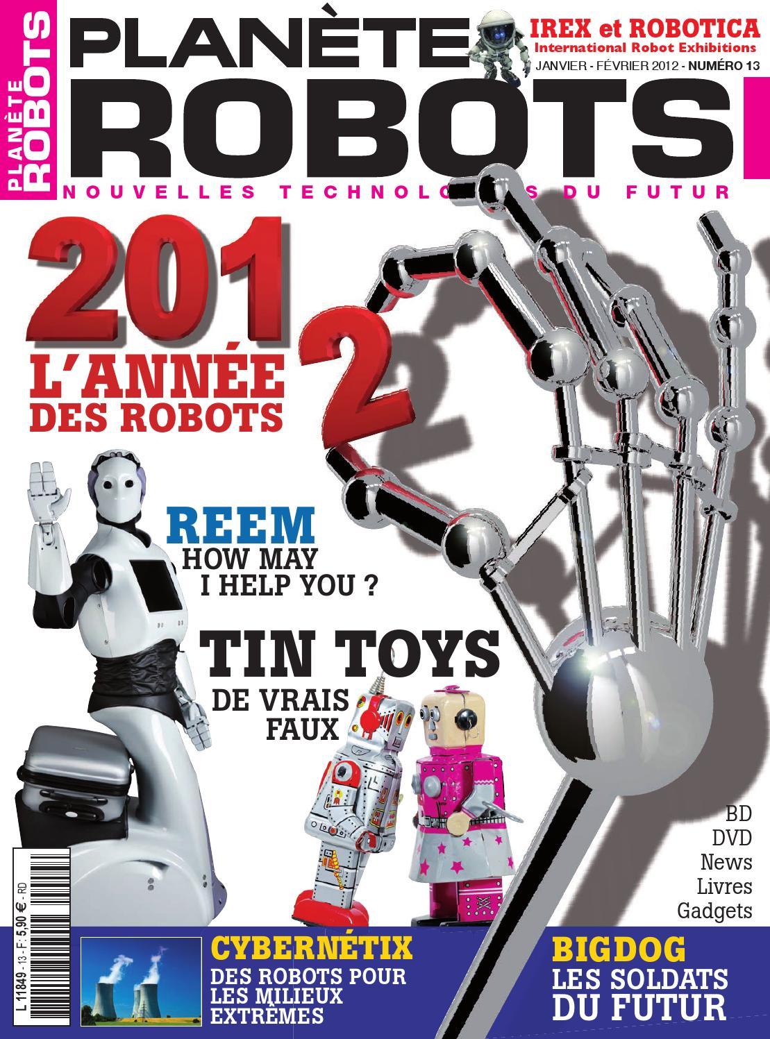 Planète Robots No.13
