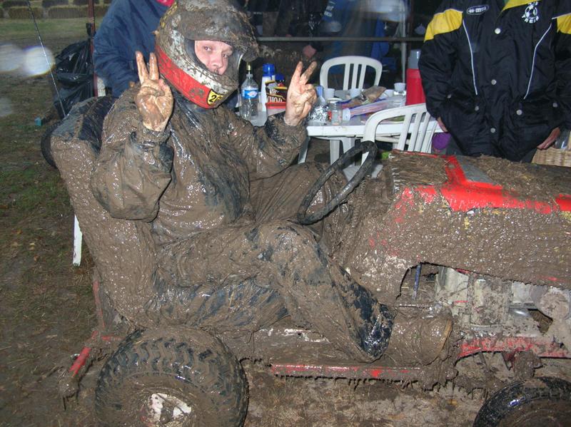 tracteur boue