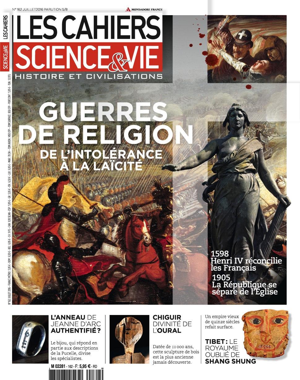 Les Cahiers de Science & Vie N°162 - Juillet 2016