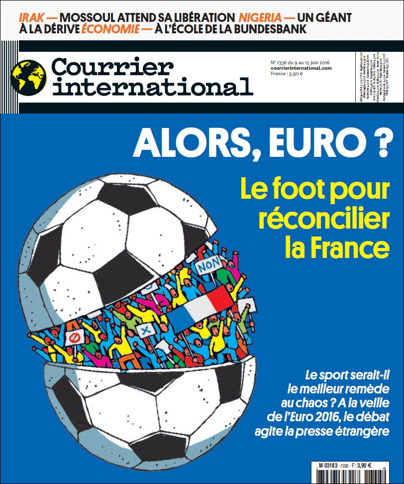 COURRIER INTERNATIONAL N°1336 du 9 au 15 juin 2016