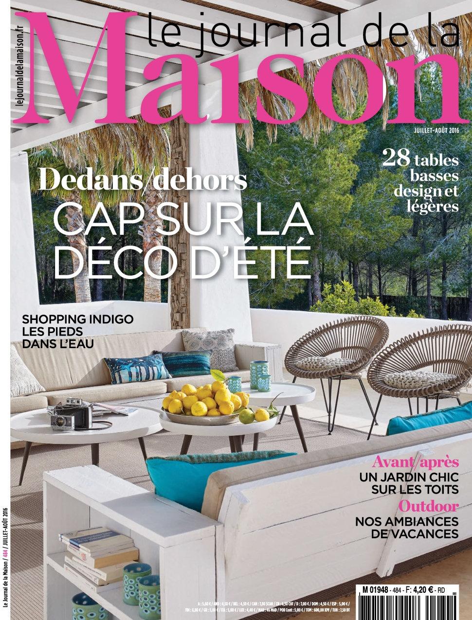 Le Journal de la Maison N°484 - Juillet/Aout 2016