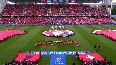 Albanie Suisse Euro 2016 HDTV 720p