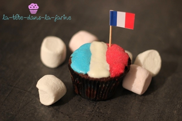 "Muffin choco ""Euro 2016"""