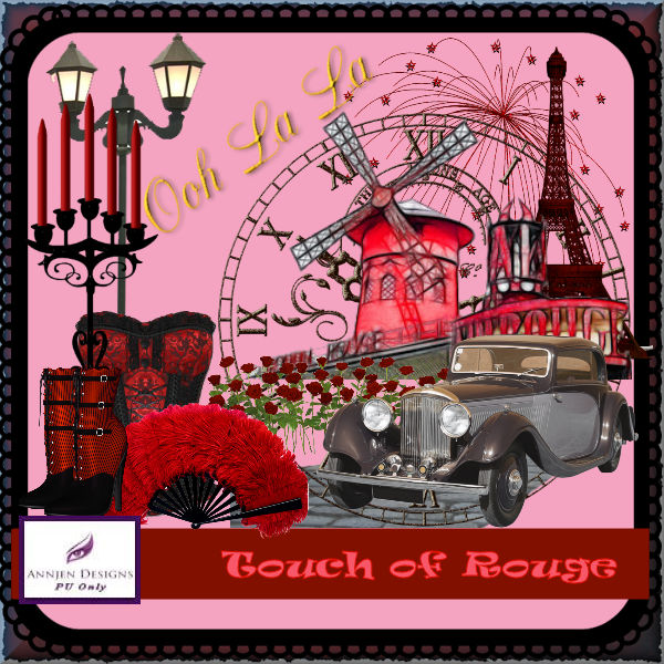 Touch of Rouge Preview
