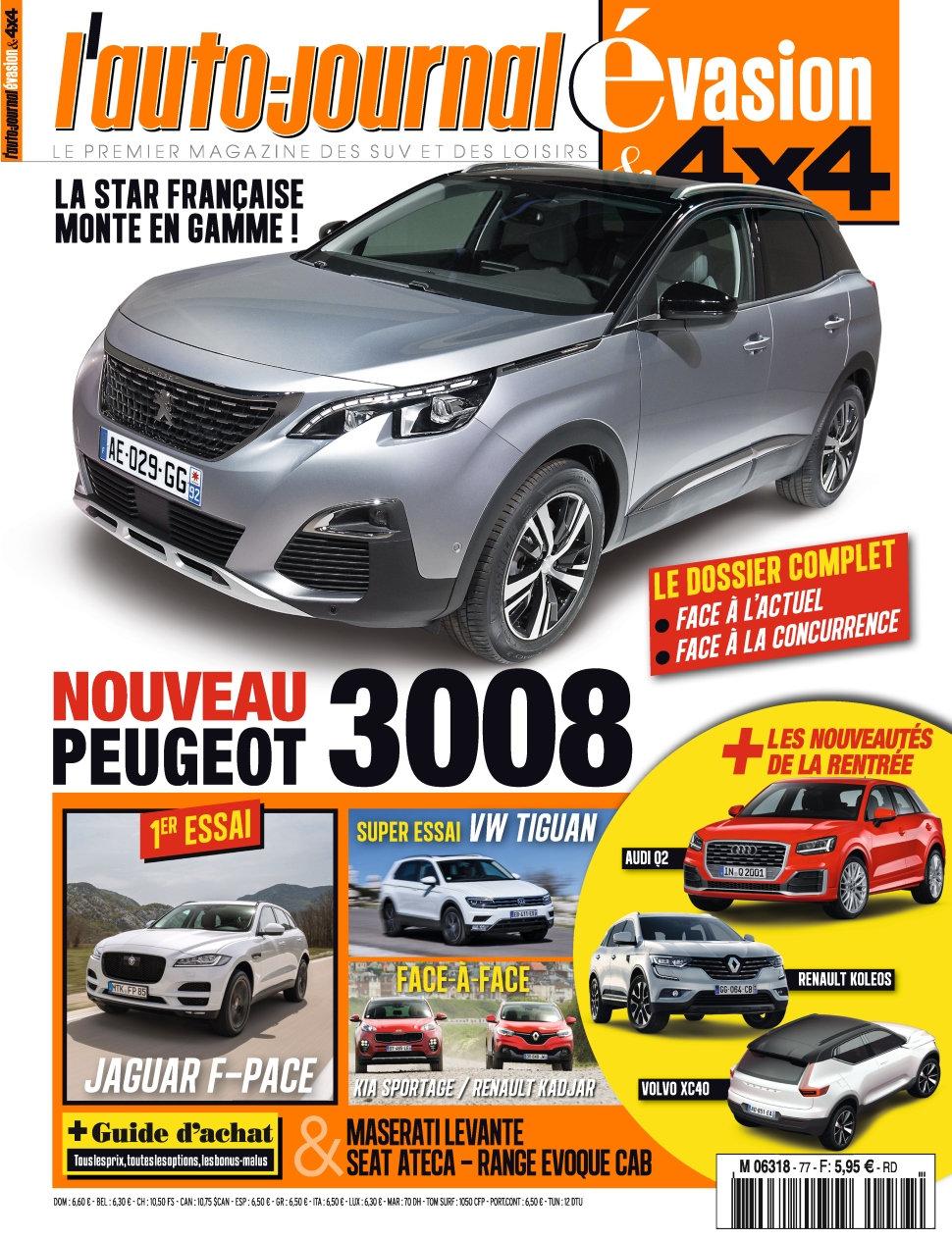 L'Auto-Journal 4x4 N°77 - Juin/Juillet/Aout 2016