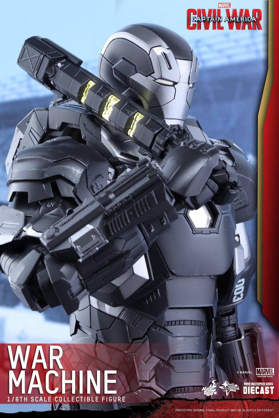 CAPTAIN AMERICA : CIVIL WAR - WAR MACHINE (MMS???DC??) 160617021116235067