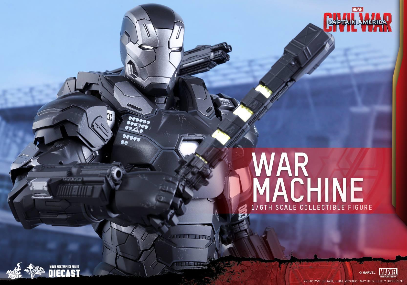 CAPTAIN AMERICA : CIVIL WAR - WAR MACHINE (MMS???DC??) 160617021117395995