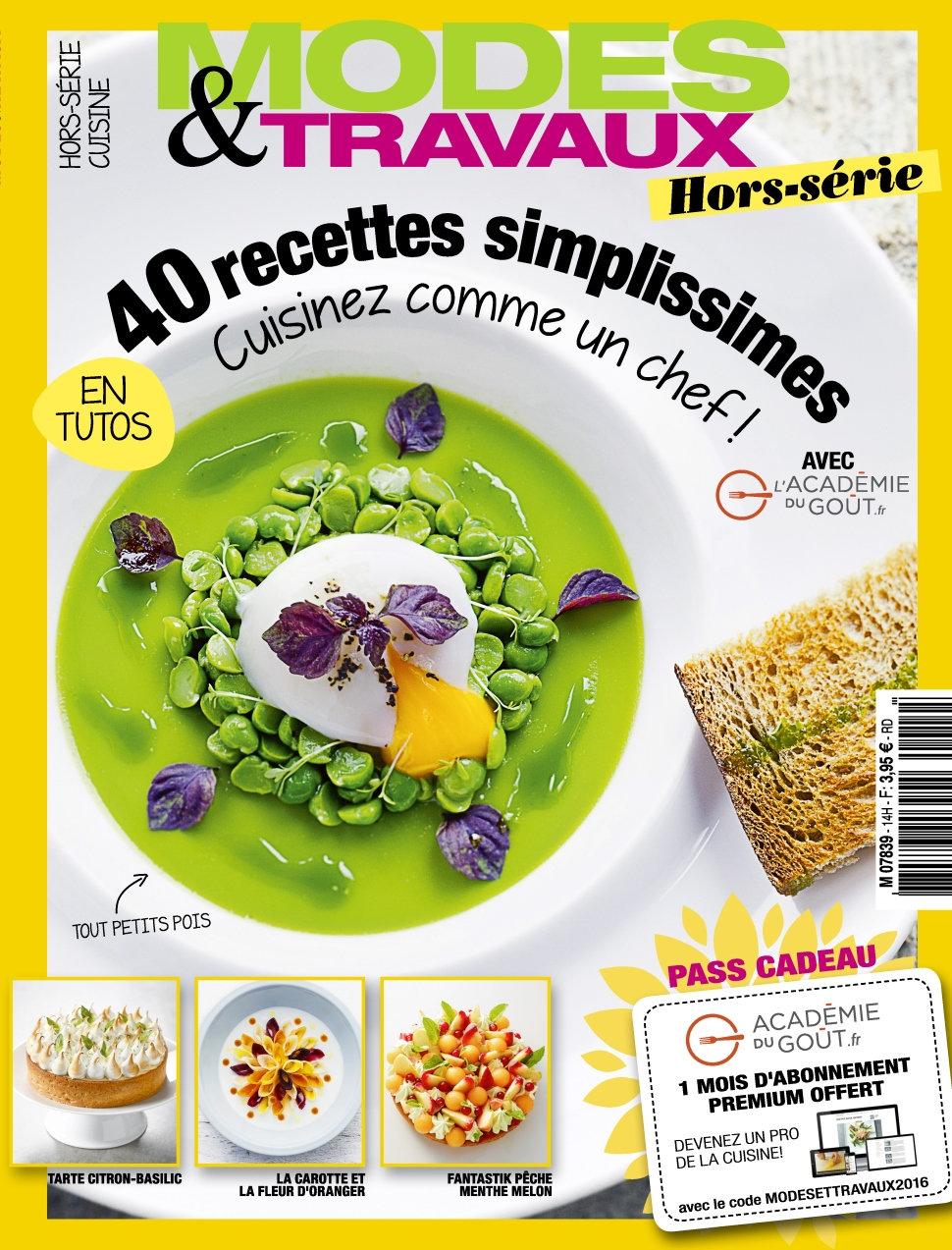 Modes & Travaux Hors-Série N°14 - Cuisine Ete 2016