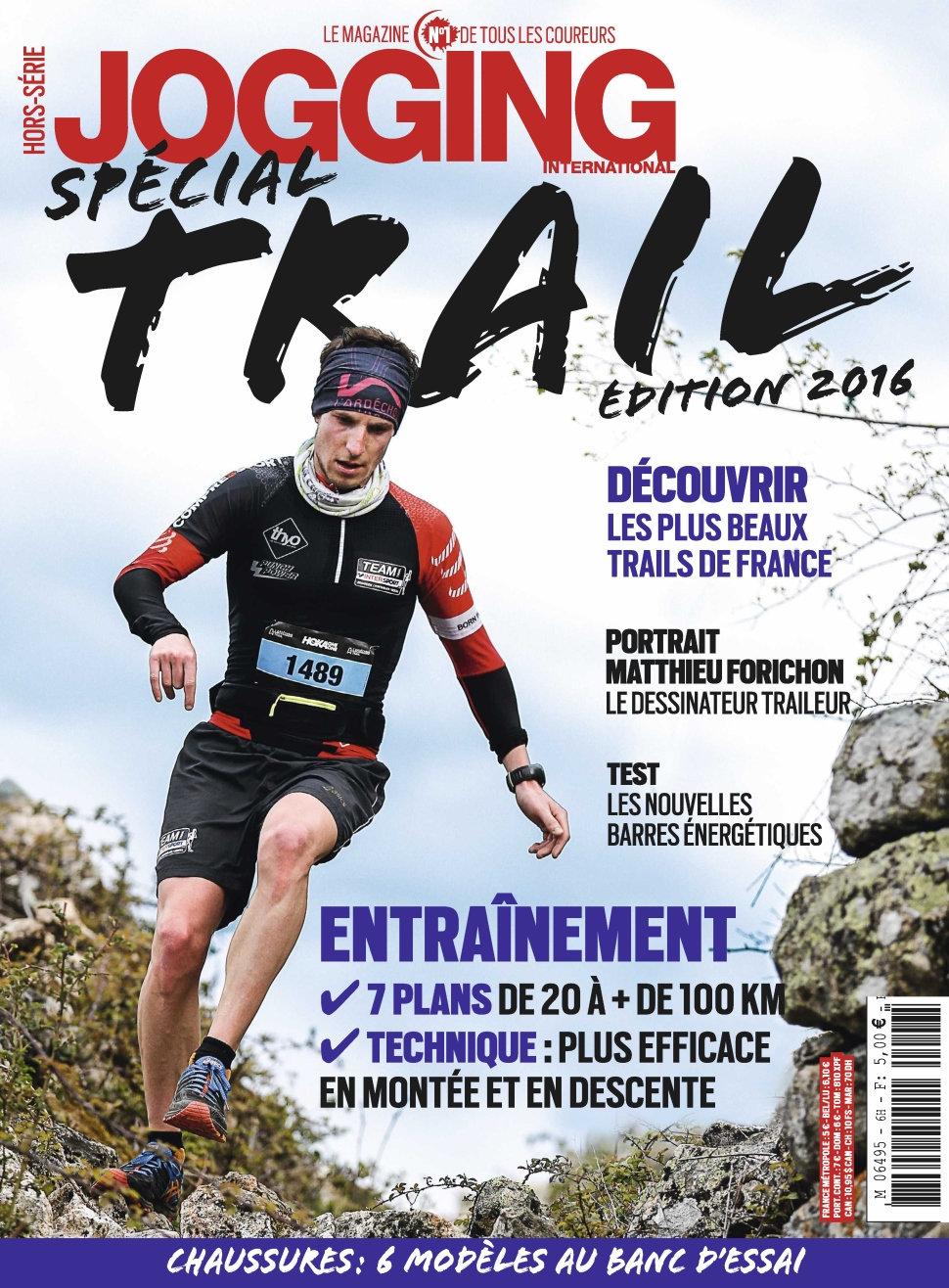 Jogging International Hors-Série N°2027 - Spécial Trail Edition 2016