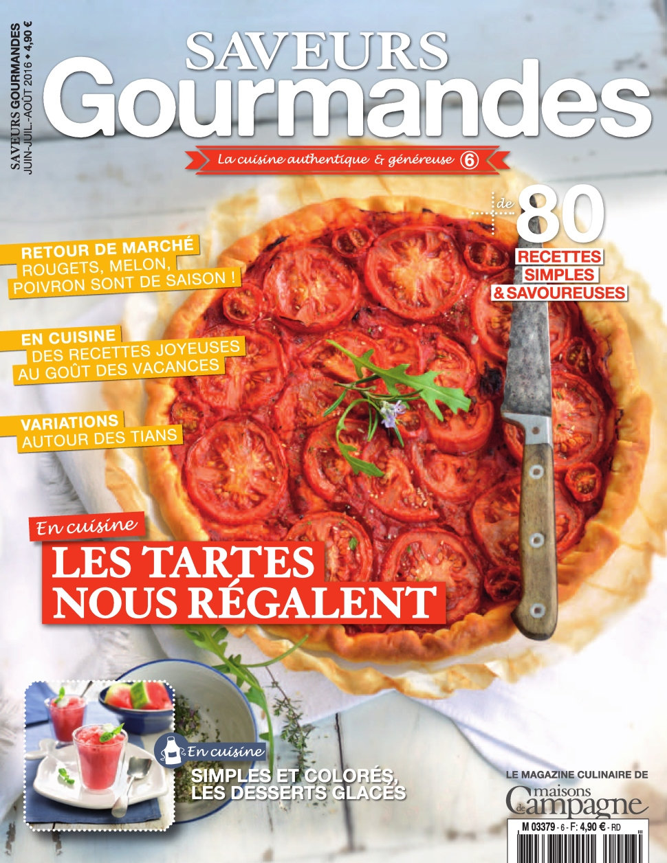Campagne Gourmande N°6 - Juillet/Aout 2016