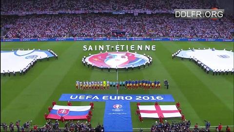 Slovaquie Angleterre Euro 2016 HDTV 720p