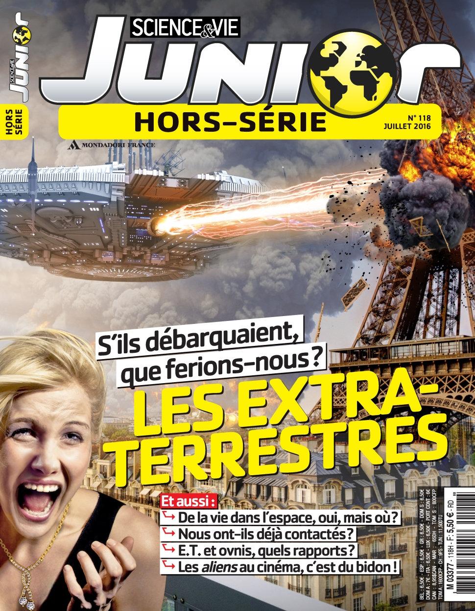 Science & Vie Junior Hors-Série N°118 - Juillet 2016