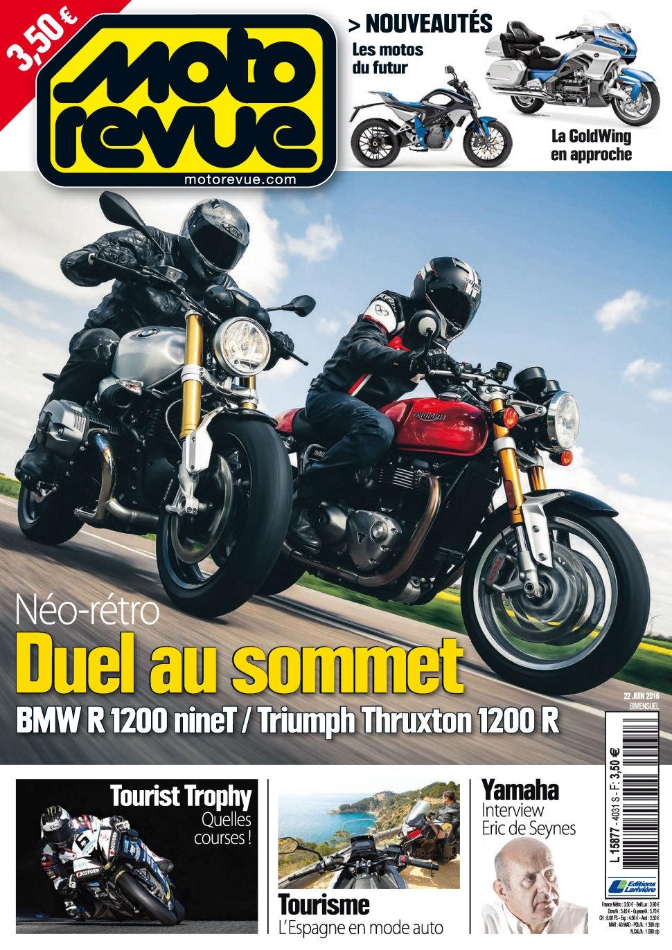 Moto Revue N°4031 - 22 Juin 2016