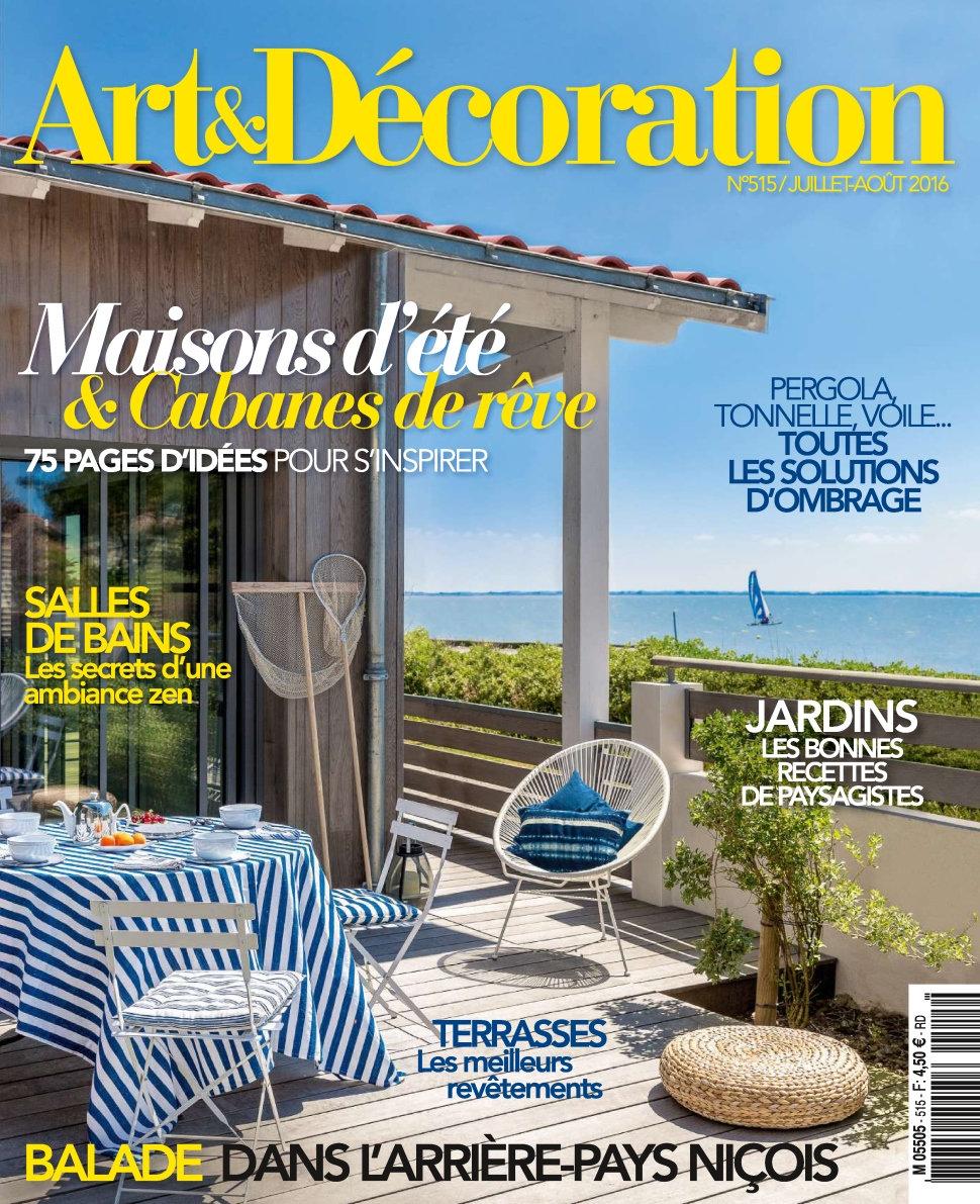 Art & Décoration N°515 - Juillet/Aout 2016