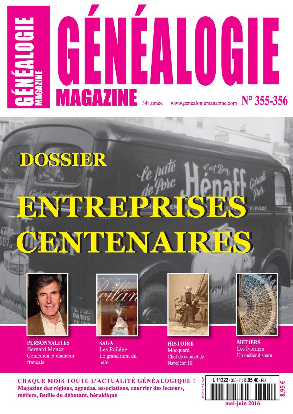 Généalogie Hors-Série N°35-5356 - Juin 2016