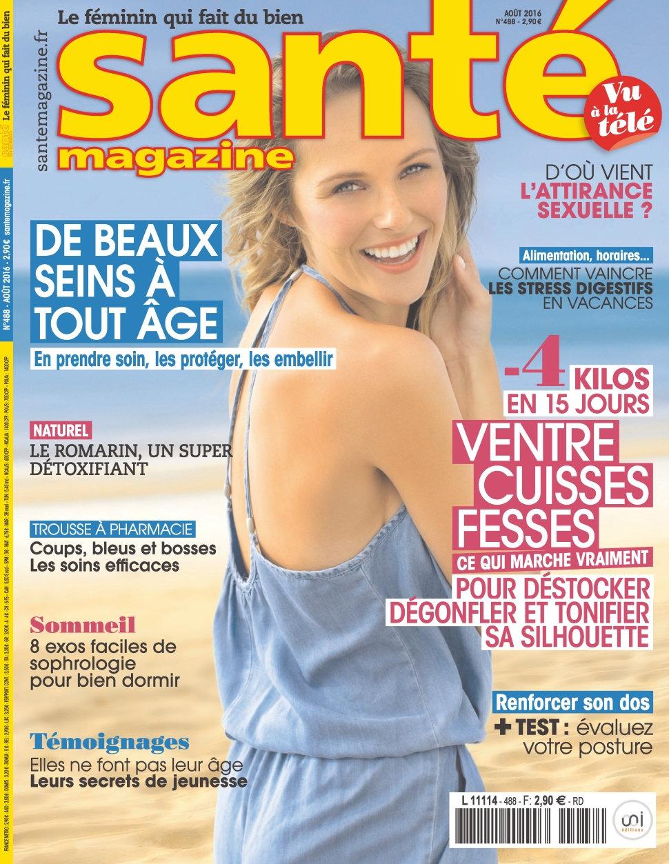 Santé Magazine N°488 - Aout 2016