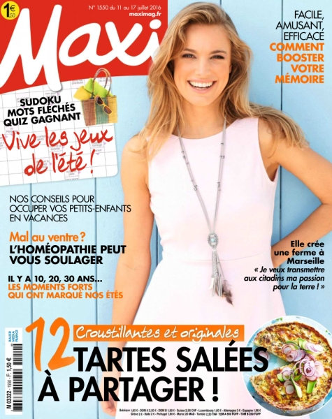 Maxi n°1550 - 11 au 17 Juillet 2016