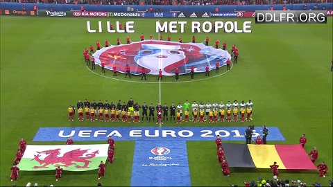 Pays de Galles Belgique Euro 2016 HDTV 720p