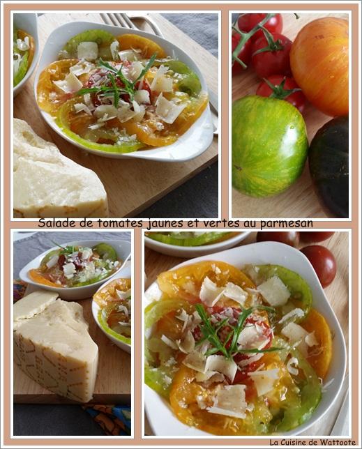 salade tomate parmesan