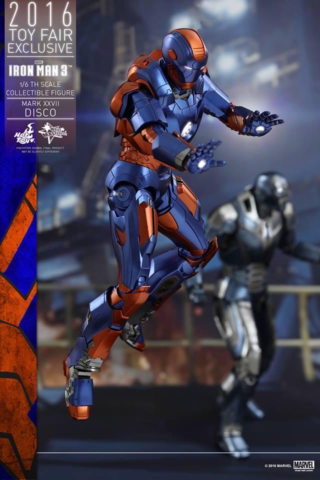"""IRON MAN 3 - MARK XXVII """"DISCO"""" (MMS371) 160707115555656733"""