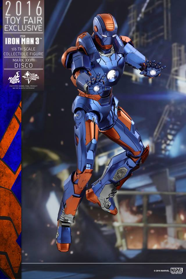 """IRON MAN 3 - MARK XXVII """"DISCO"""" (MMS371) 160707115602591615"""