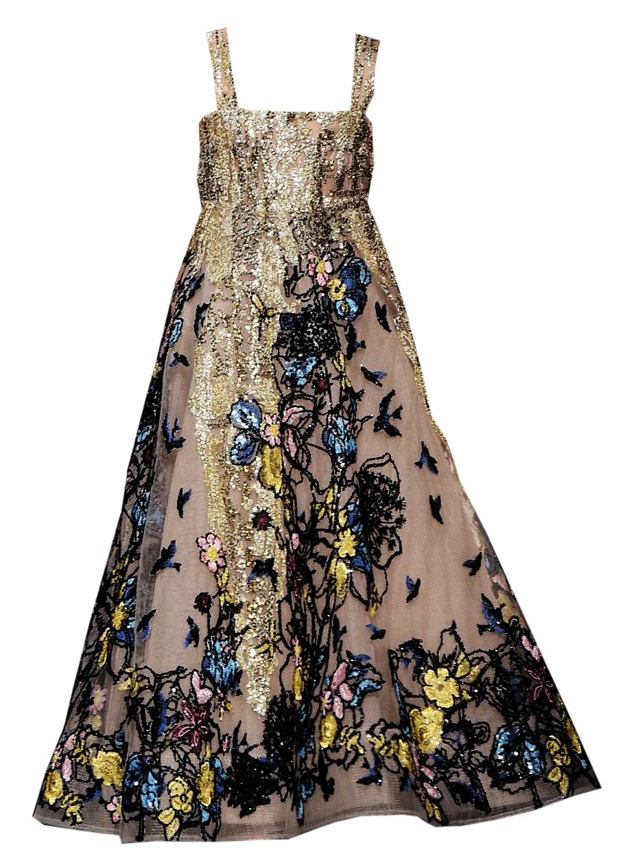elie saab girl's gown edited by metalheavy