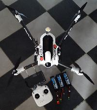 Drone FPV Spyder 850 Sky Hero Mini_160711060204356319