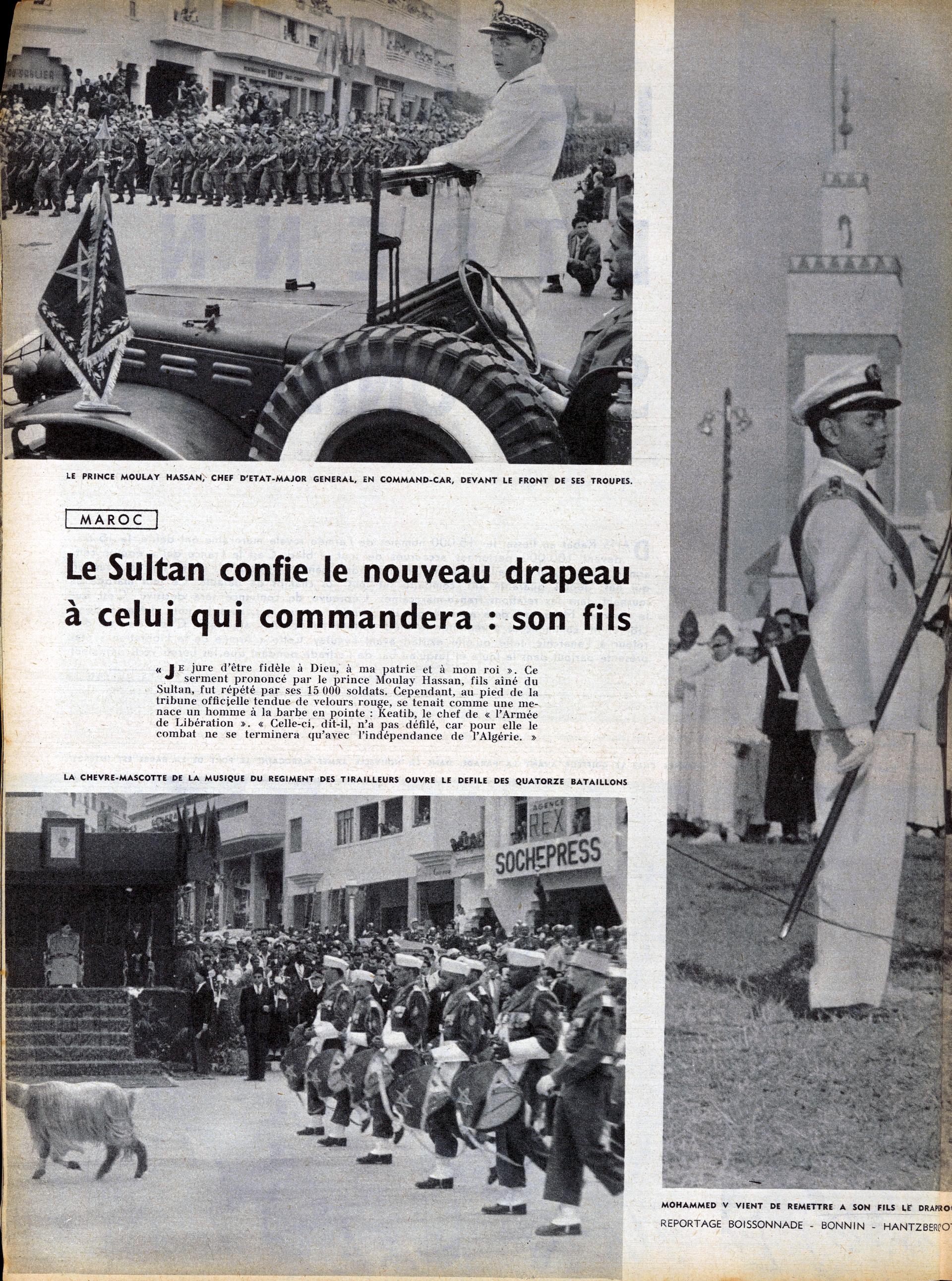 Création des F.A.R. - 14 mai 1956 160713022503693586
