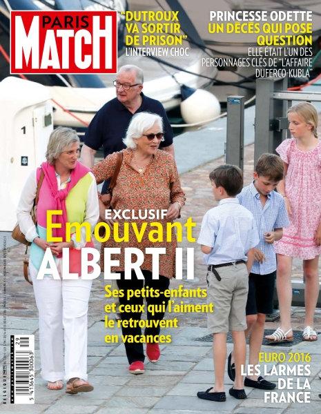 Paris Match Belgique N°775 - 14 au 20 Juillet 2016