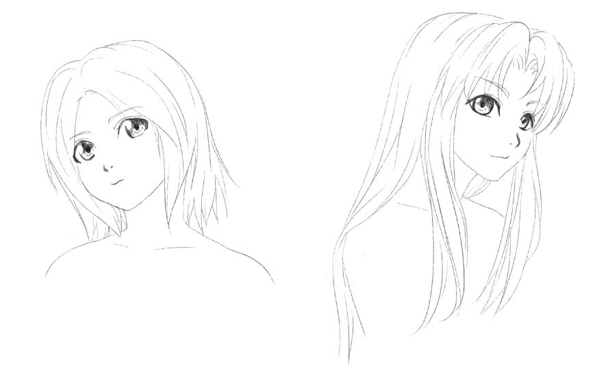 Portraits de Gwenn et Laura [Les liens de l'amour] & [Feeling Fighters] 16071811464487268