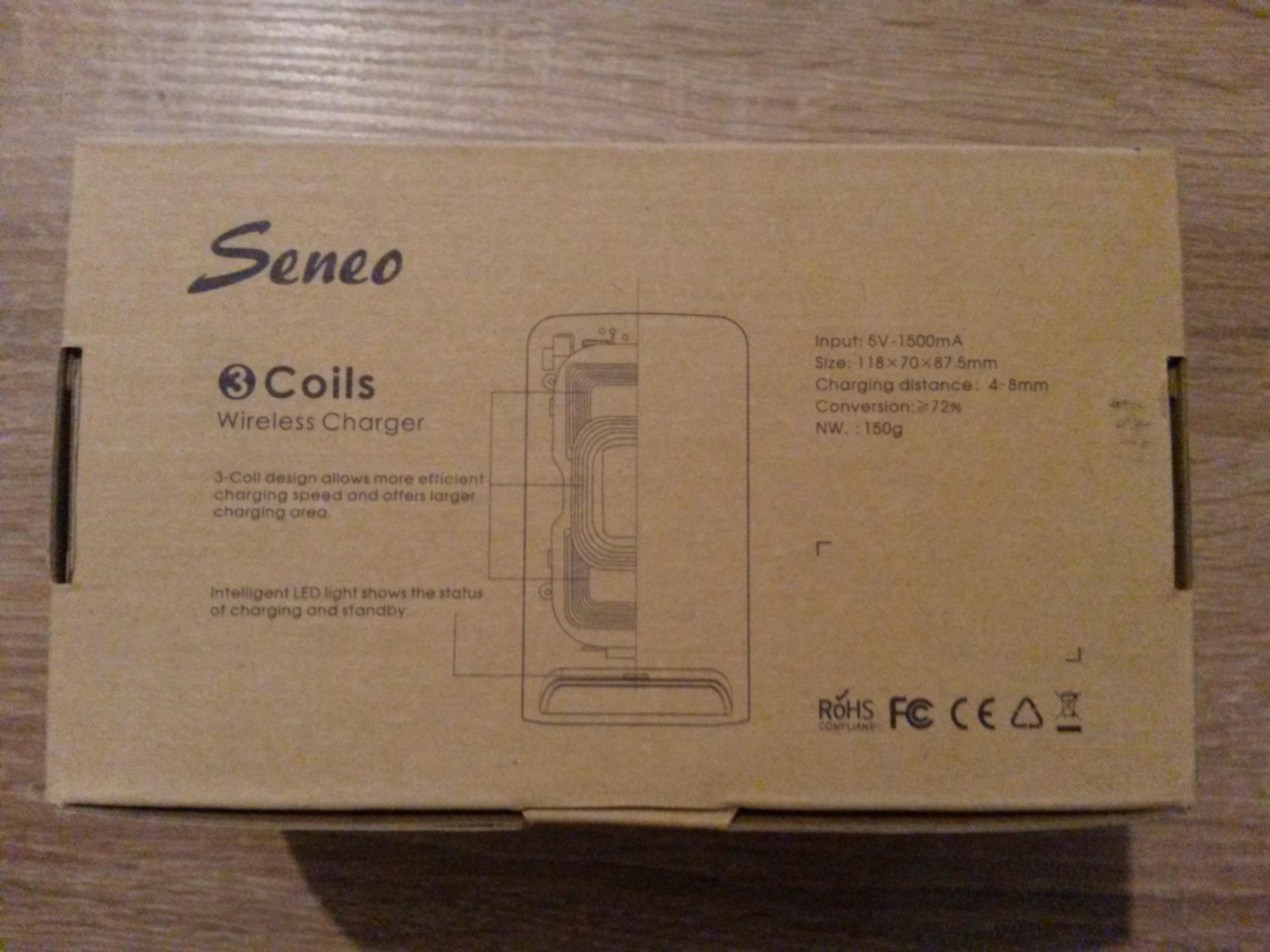 TEST: Chargeur smartphones à induction sans fil QI - Seneo - Tests et ...