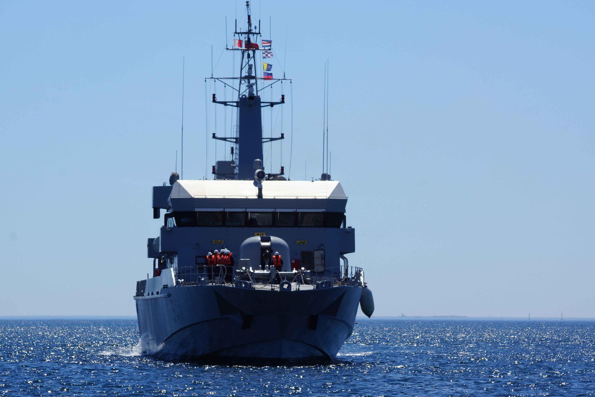 Royal Moroccan Navy OPV-70 / Classe Bir Anzarane - Page 5 160726073302235228