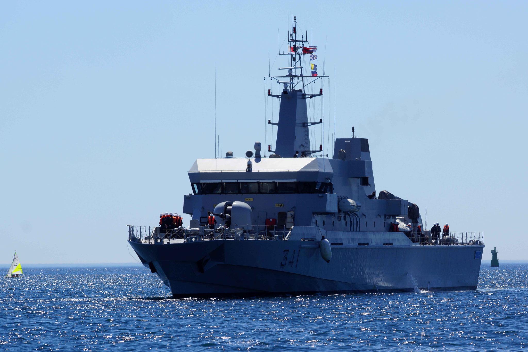 Royal Moroccan Navy OPV-70 / Classe Bir Anzarane - Page 5 160726073302419229