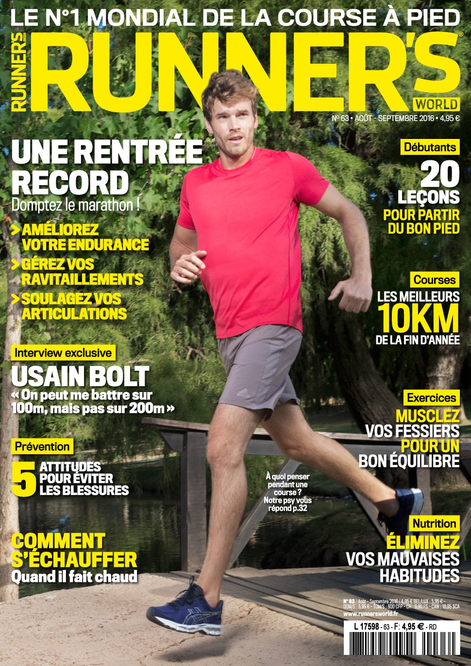 Runner's World N°63 - Aout/Septembre 2016