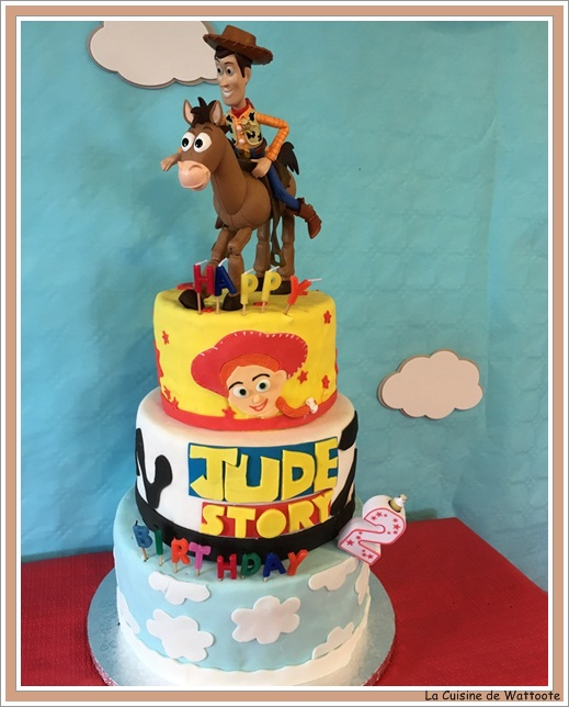 gâteau toys story