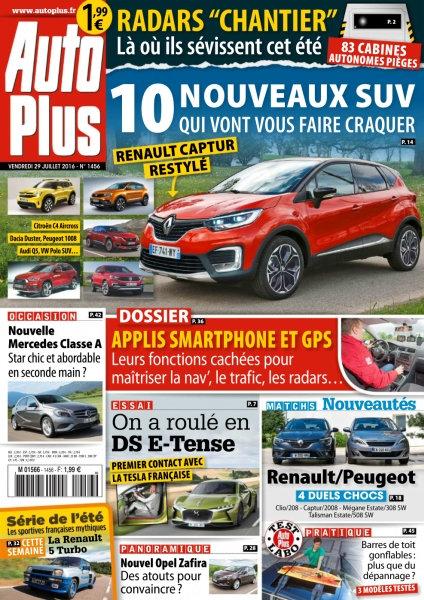 Auto Plus N°1456 - 29 Juillet au 4 Août 2016