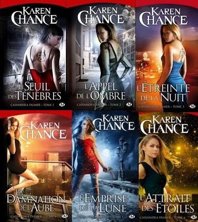 Karen Chance - Cassandra Palmer Tome 1 2 3 4 5 6