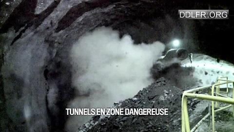 Tunnels en zone dangereuse