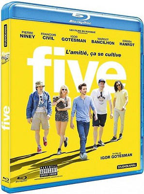 Five bluray 1080p