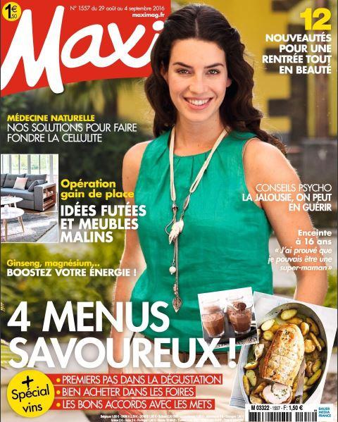 Maxi - 29 Aout au 4 Septembre 2016