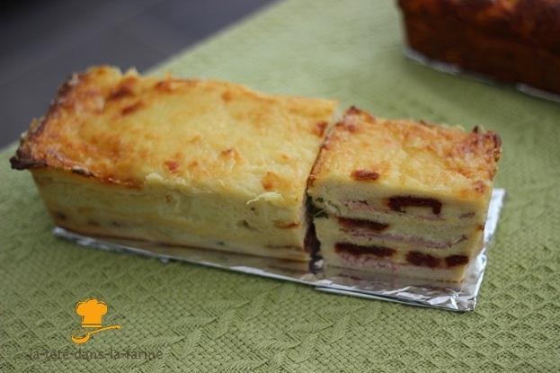 Croq'cake à l'italienne