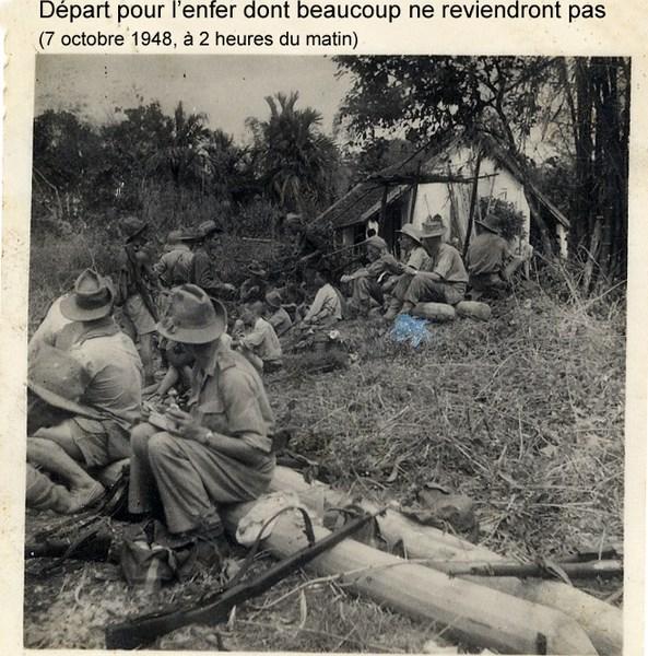 la vie d'un gendarme en poste en Indochine en 1948 160814073425665072