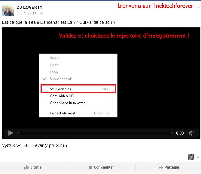 télécharger une vidéo Facebook sans logiciel ? 160819104528393671