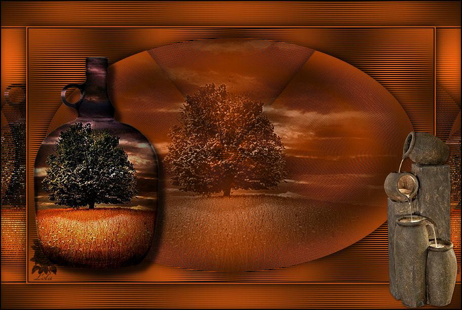 Dentro de una Botelle