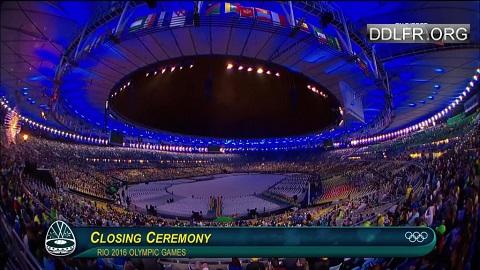Cérémonie de clôture des Jeux olympiques de Rio 2016
