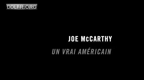 Un vrai Américain Joe McCarthy