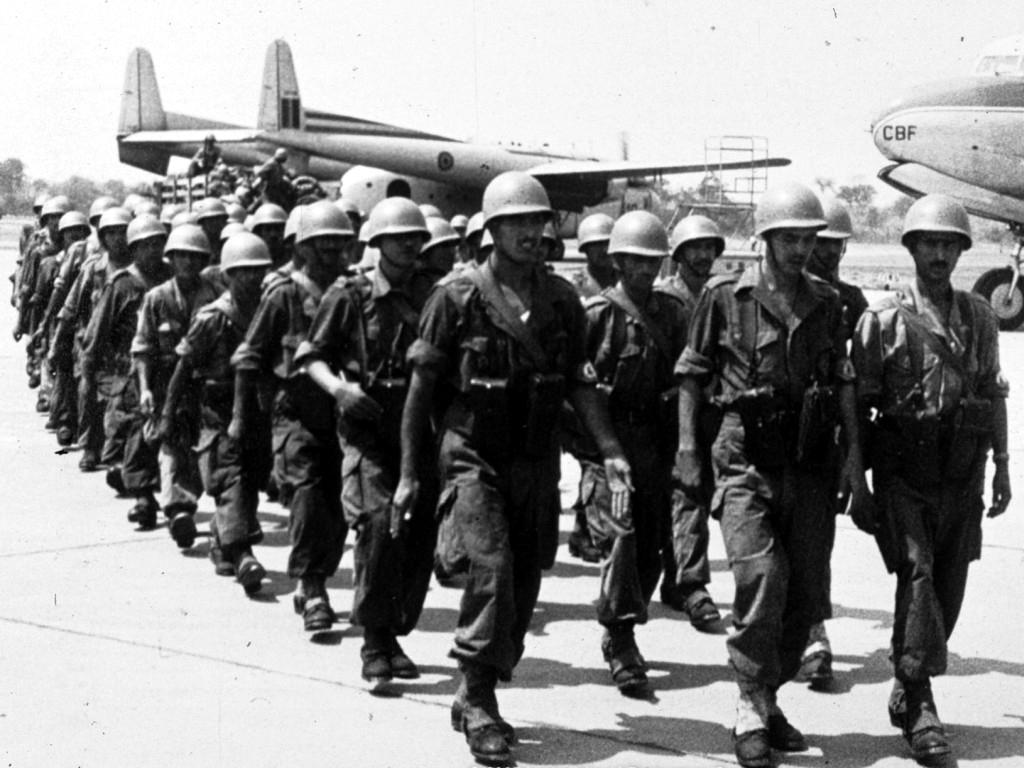 Les Forces Armées Royales au Congo - ONUC - 1960/61 160901034048275559